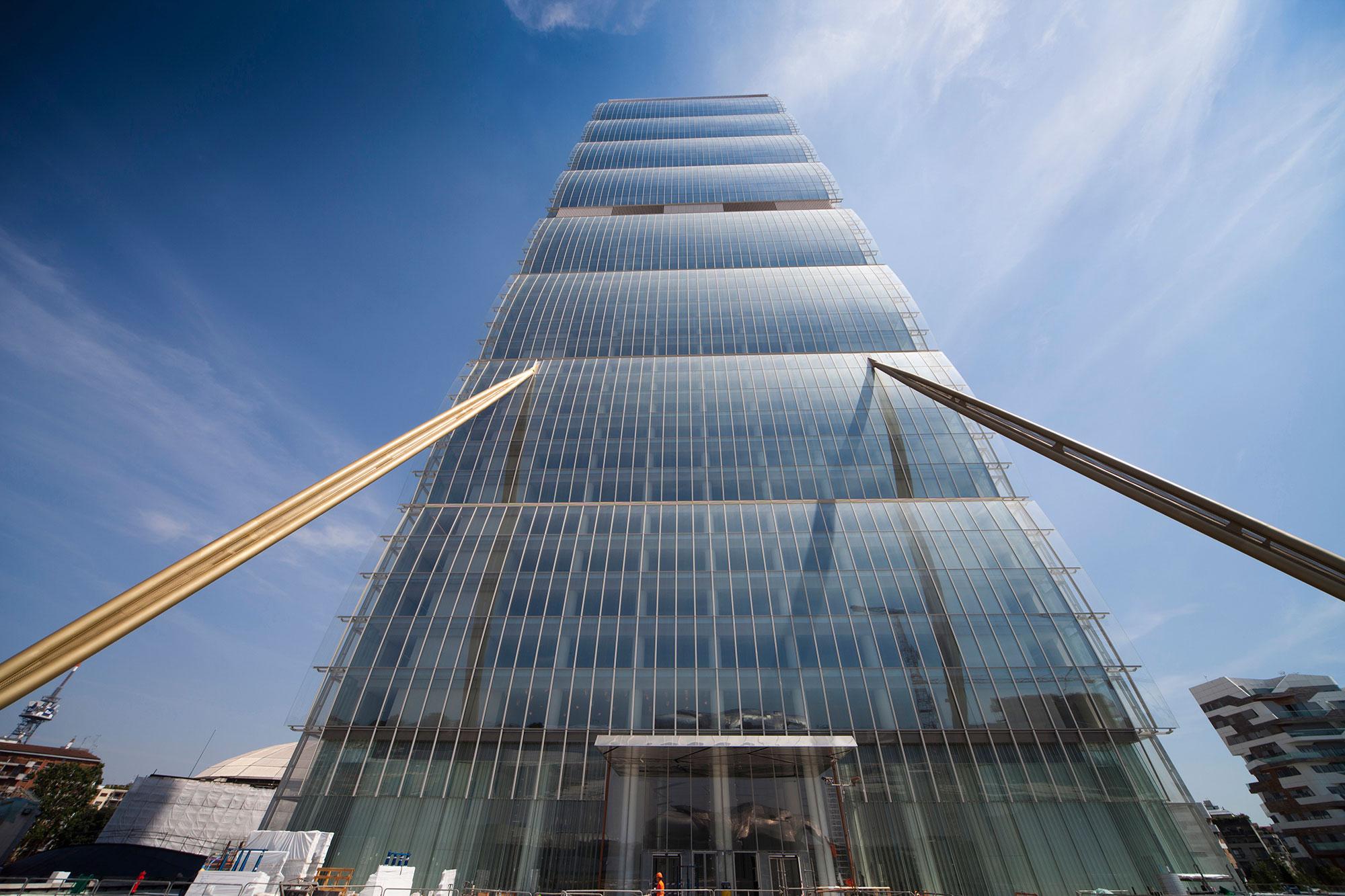 Torre Allianz Milano Colombo Costruzioni