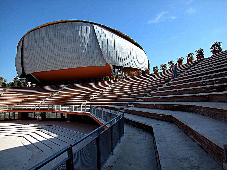 Sale Parco Della Musica Roma : Auditorium parco della musica roma u colombo costruzioni